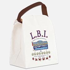 Unique Surf long island Canvas Lunch Bag