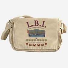 LONG BEACH ISLAND NEW JERSEY Messenger Bag