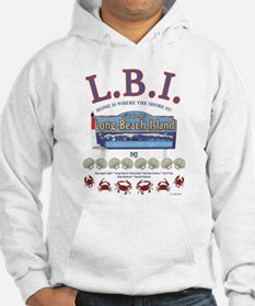 LONG BEACH ISLAND NEW JERSEY Hoodie