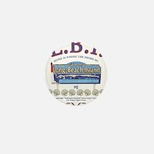 LONG BEACH ISLAND NEW JERSEY Mini Button (10 pack)