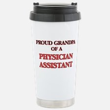 Proud Grandpa of a Phys Travel Mug