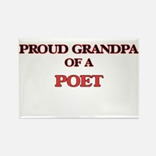 Proud Grandpa of a Poet Magnets