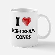 I love Ice-Cream Cones Mugs