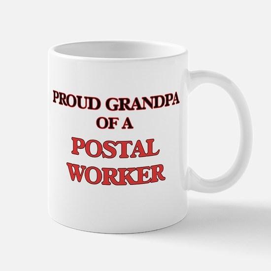 Proud Grandpa of a Postal Worker Mugs