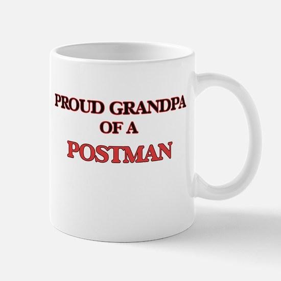 Proud Grandpa of a Postman Mugs