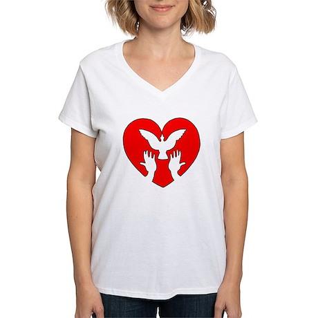 HeartDove Women's V-Tee