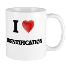 I love Identification Mugs