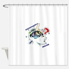 Sophisticatedly Insane Shower Curtain
