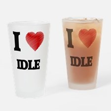Cute Down with dusty Drinking Glass