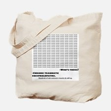 Funny Funny injury Tote Bag