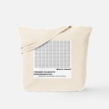 Cute Sports injury Tote Bag