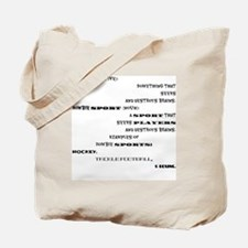 Unique Adjective Tote Bag