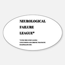 Funny Concussion Decal