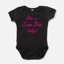 Funny Leap year Baby Bodysuit
