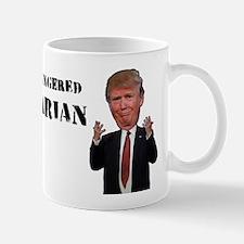 Trump the Short-Fingered Vulgarian Mugs