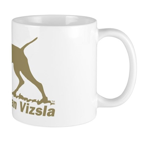 Pointing Vizsla 8.3x3 Mugs