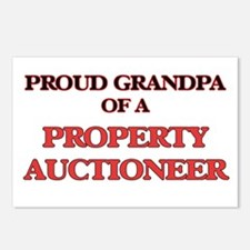 Proud Grandpa of a Proper Postcards (Package of 8)