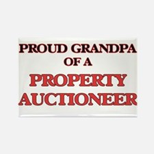 Proud Grandpa of a Property Auctioneer Magnets