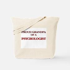 Proud Grandpa of a Psychologist Tote Bag