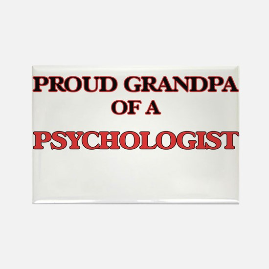 Proud Grandpa of a Psychologist Magnets