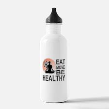 Cute Live love run Water Bottle