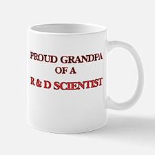 Proud Grandpa of a R & D Scientist Mugs