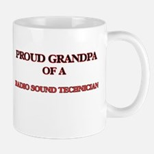 Proud Grandpa of a Radio Sound Technician Mugs
