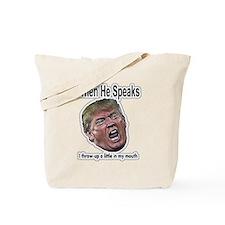 Talking Head Tote Bag