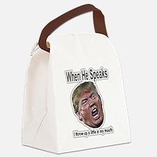 Talking Head Canvas Lunch Bag
