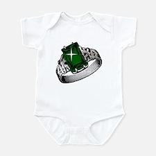 Princess Diva Emerald Ring Infant Bodysuit