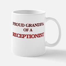 Proud Grandpa of a Receptionist Mugs