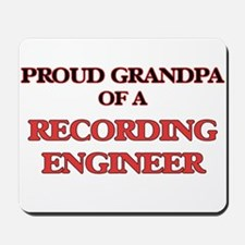 Proud Grandpa of a Recording Engineer Mousepad