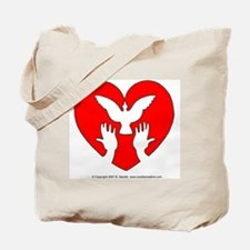 HeartDove Tote Bag