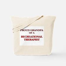 Proud Grandpa of a Recreational Therapist Tote Bag