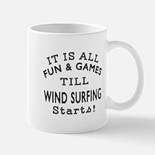 Wind Surfing Fun And Games Designs Mug