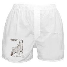 Vintage Wolf Boxer Shorts