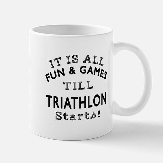 Triathlon Fun And Games Designs Mug