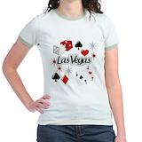Las vegas Jr. Ringer T-Shirt