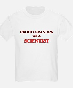 Proud Grandpa of a Scientist T-Shirt