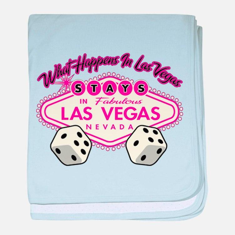 What Happens In Vegas Stays In Vegas baby blanket