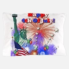 4th Of July Pillow Case