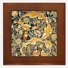 Wm Owl Framed Tile