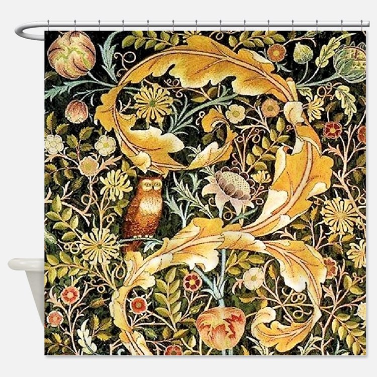 Wm Owl Shower Curtain