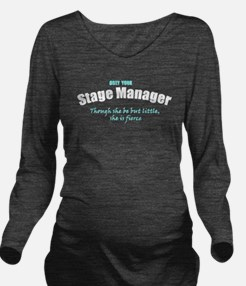 Unique Manager Long Sleeve Maternity T-Shirt