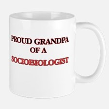 Proud Grandpa of a Sociobiologist Mugs