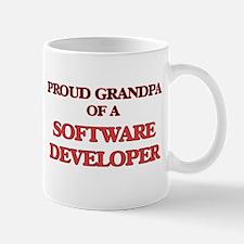 Proud Grandpa of a Software Developer Mugs