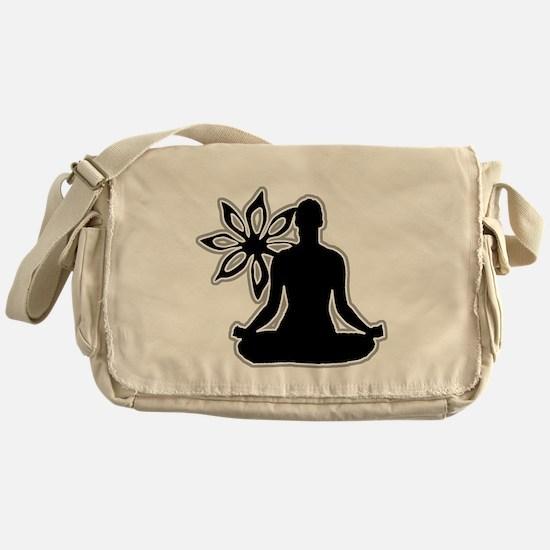 Unique Meditation Messenger Bag