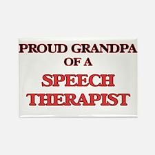 Proud Grandpa of a Speech Therapist Magnets