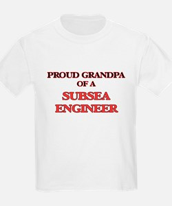 Proud Grandpa of a Subsea Engineer T-Shirt