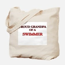 Proud Grandpa of a Swimmer Tote Bag